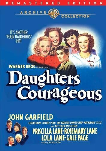 DAUGHTERS COURAGEOUS (1939 John Garfield)  Region Free DVD - Sealed