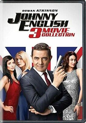 Johnny English 3 Movie Collection [New DVD] 3 Pack