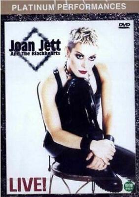 [DVD] Joan Jett & The Blackhearts Live ! (2001) *NEW