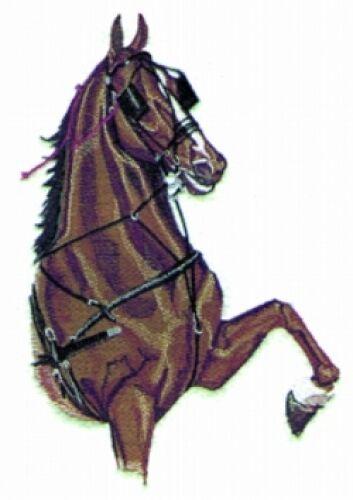 Embroidered Fleece Jacket - Harness Horse BT2338 Sizes S - XXL
