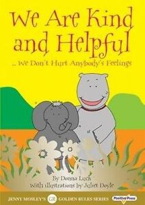 Luck, Donna-We Are Kind And Helpful  BOOK NEW