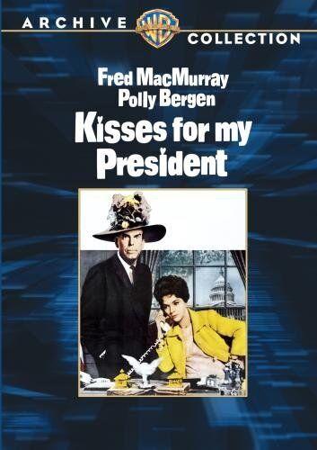 KISSES FOR MY PRESIDENT - (B&W) (1964 Fred MacMurray) Region Free DVD - Sealed