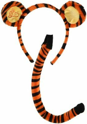 elope Disney's Winnie the Pooh Tigger Ears&Tail Set (Winnie The Pooh Halloween Costume Ears)