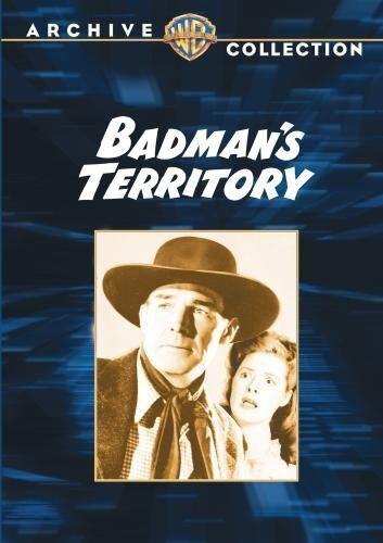 BADMANS TERRITORY - (B&W) (1946 George 'Gabby' Hayes Region Free DVD - Sealed