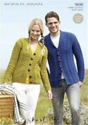 Mens Aran Cardigan Knitting Patterns