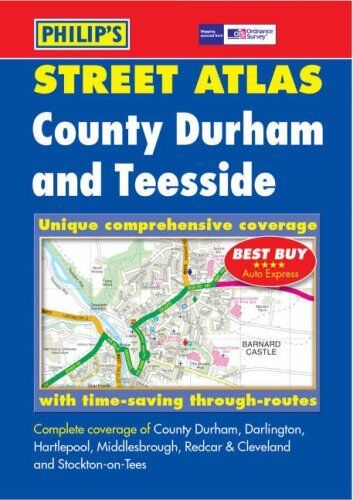Philip's Street Atlas County Durham and Teesside: Pocket: County Durham and Te,