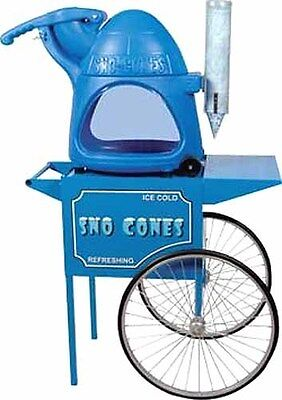 Paragons The Cooler Snow Cone Machine Cart Combo - Made In The Usa