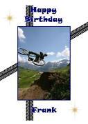 Bike Birthday Card