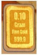 24K Solid Gold Bar