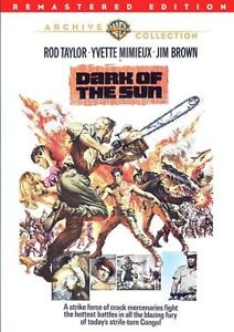 DARK OF THE SUN (1968 Rod Taylor) remastered  Region Free DVD - Sealed
