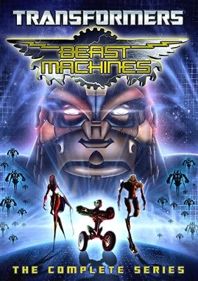 TRANSFORMERS BEAST MACHINES COMPLETE SERIES New Sealed 4 DVD Set