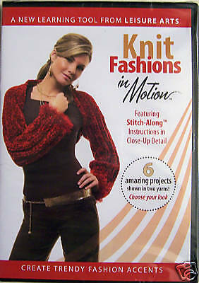 Knitting DVD - Knit Fashions in Motion *NEW*
