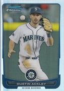 2012 Bowman Chrome Dustin Ackley