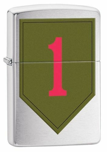 Zippo Windproof United States Army 1st Infantry Lighter, 29182, New In Box