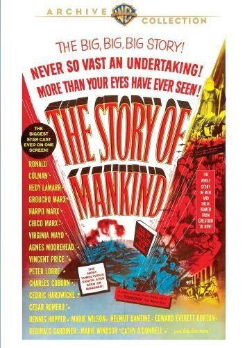 THE STORY OF MANKIND (1957 Ronald Colman)  Region Free DVD - Sealed