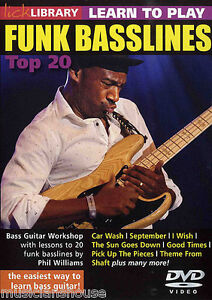 BASS-GUITAR-DVD-LICK-LIBRARY-20-Funk-Basslines-Lessons