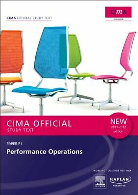 P1 Performance Operations - Study Text (Cima S... by Kaplan Publishing Paperback