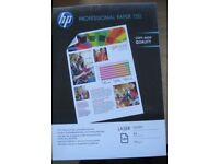 NEW HP Professional Paper (75 sheets) Laser Glossy