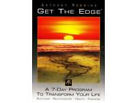 Tony Robbins Get the edge & Personal power Cd sets