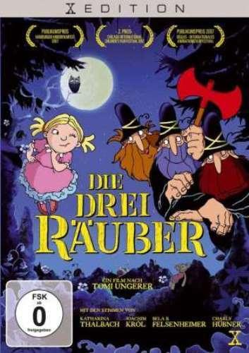 DIE DREI RÄUBER (nach dem Kinderbuch-Klassiker von Tomi Ungerer) DVD NEU+OVP