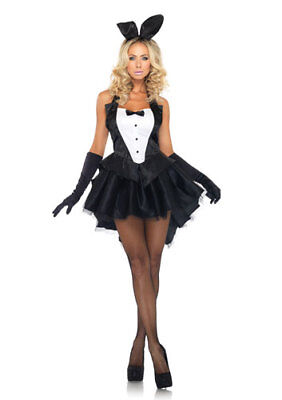 Womens Tux And Tails Bunny Sexy Halloween