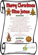Teacher Christmas Gifts