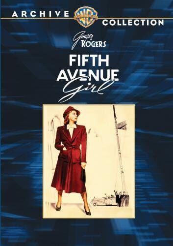 FIFTH AVENUE GIRL - (B&W) (1939 Ginger Rogers) Region Free DVD - Sealed