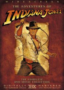 Indiana Jones Trilogy DVD (2003) Harrison Ford