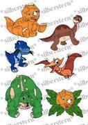 Bügelbild Dinosaurier