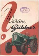 Güldner Schlepper