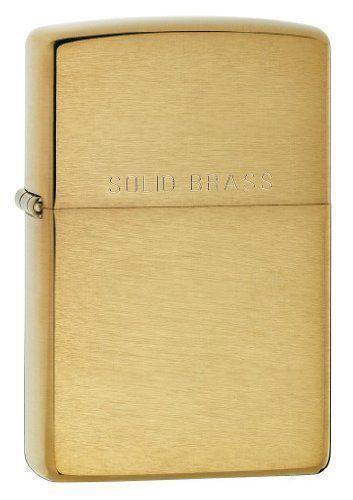 Zippo Solid Brass | eBay
