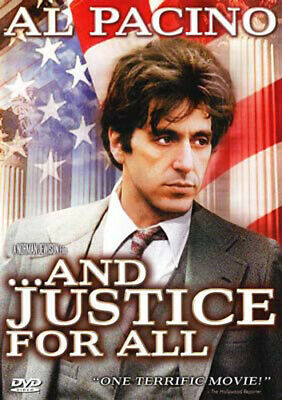 And Justice for All DVD NEW