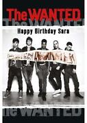 The Wanted Birthday Card