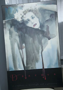 DRACULA POSTER (MUTH) PLAK-MOUNTED