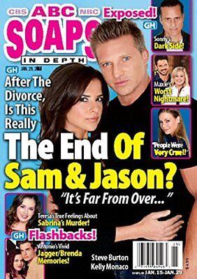 ABC Soaps In Depth Magazine - January 29, 2018 - Steve Burton & Kelly Monaco