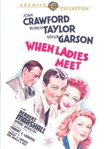 WHEN LADIES MEET - (B&W) (1941 Joan Crawford) Region Free DVD - Sealed