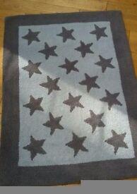 Laura Ashley blue star rug