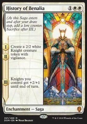 *MtG: HISTORY OF BENALIA - Dominaria Mythic - magicman-europe*