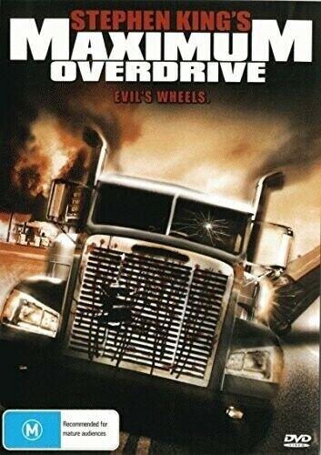 Maximum Overdrive [New DVD] Australia - Import, NTSC Region 0