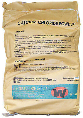 Calcium Chloride Anhydrous Powder Cas10043-52-4 94 White 50 Lb Bag