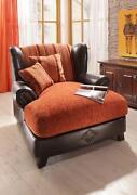 ohrensessel xxl sessel ebay. Black Bedroom Furniture Sets. Home Design Ideas