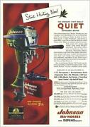 1954 Johnson Outboard