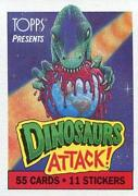 Dinosaurs Attack Cards