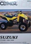 Suzuki LT-Z400 Manual