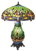 Dragonfly Stained Glass Lamp
