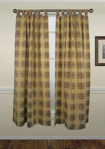 Cotton Tab Top Curtains Ebay