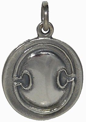 Ancient Greek Silver Coin Shield - Amphora Pendant - Sterling Silver