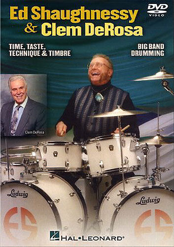 Ed Shaughnessy & Clem DeRosa Big Band Drumming Play Drums Music DVD