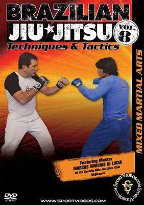 Brazilian Jiu-Jitsu Techniques and Tactics DVD Mixed Martial Arts Free Shipping