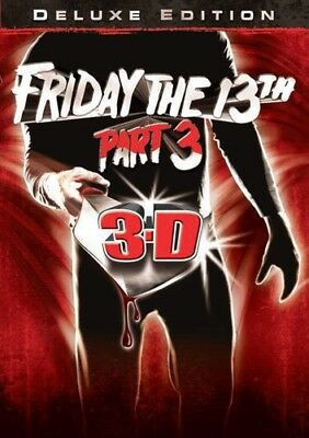 Friday The 13Th Part 3 [New DVD] Deluxe Edition, Dolby, Dubbed, Subtitled, Wid
